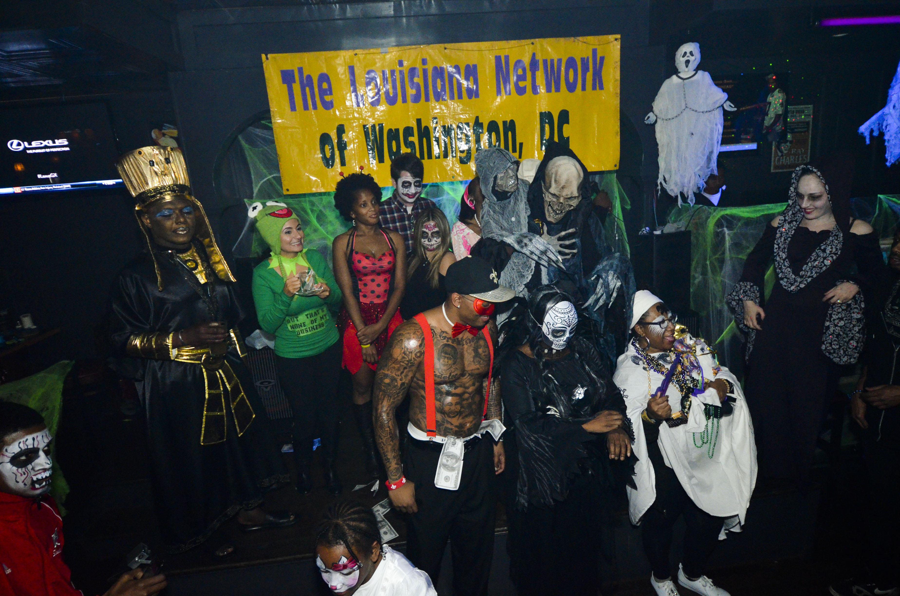Saints Halloween Costume @Uptown Tap House
